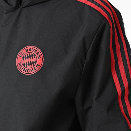 adidas - Veste Zippée A Capuche FC Bayern GR0651 Noir