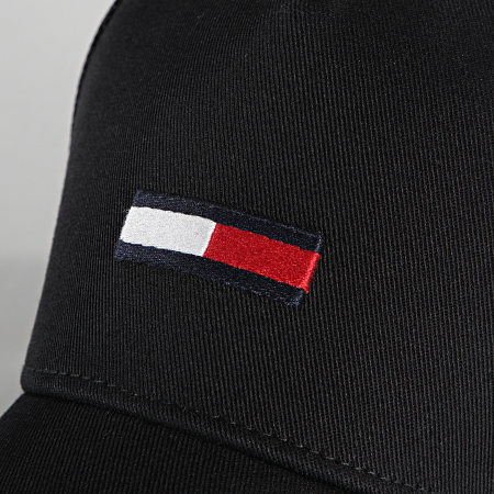 Tommy Jeans - Casquette Trucker TJM Flag 7526 Noir