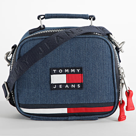 Tommy Jeans - Sacoche Heirtage Denim 0237 Bleu Denim