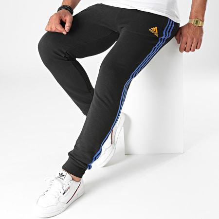 adidas - Pantalon Jogging A Bandes Real Madrid GR4308 Noir