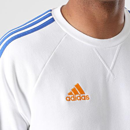 adidas - Sweat Crewneck A Bandes Real Madrid GR4341 Ecru