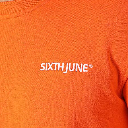 Sixth June - Ensemble De Survetement M33180ESE Orange