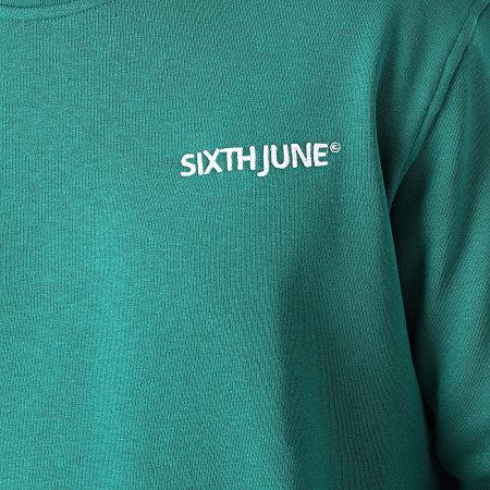 Sixth June - Ensemble De Survetement M33180ESE Vert