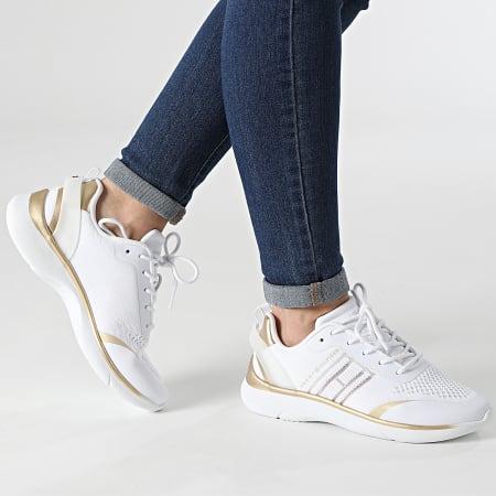 Tommy Hilfiger - Baskets Femme Knitted Light Sneaker 5791 White