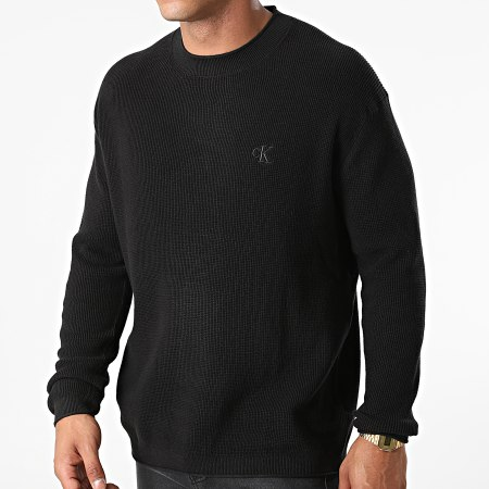 Calvin Klein Jeans - Pull Essential 8184 Noir