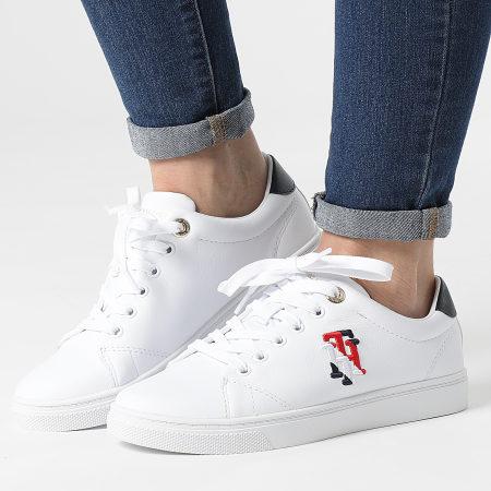 Tommy Hilfiger - Baskets Femme Monogram Casual Sneaker 5794 White