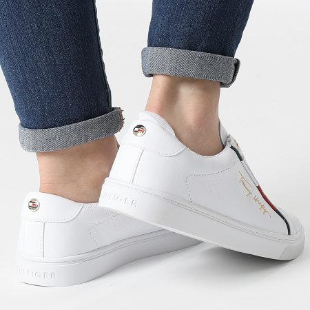 Tommy Hilfiger - Baskets Femme Slip On Cupsole 5915 White