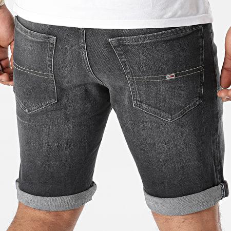 Tommy Jeans - Short Jean Slim Scanton 1866 Noir