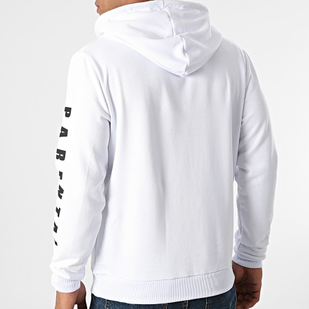 Parental Advisory - Sweat Capuche Collection Blanc