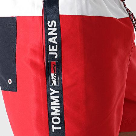 Tommy Jeans - Short De Bain Medium Drawstring 2070 Rouge