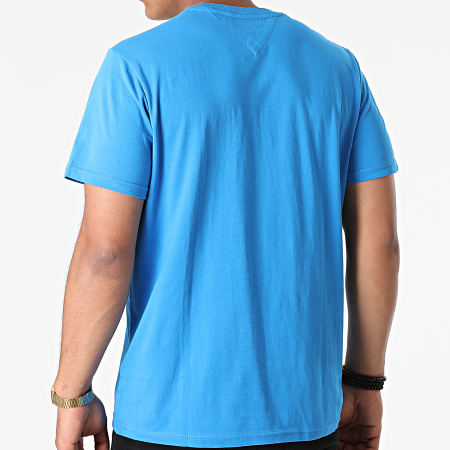 Tommy Jeans - Tee Shirt Classic Jersey 9598 Bleu Azur
