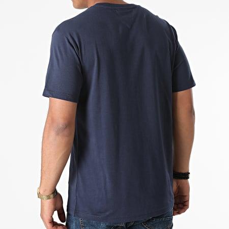 Tommy Jeans - Tee Shirt Small Text 9701 Bleu Marine