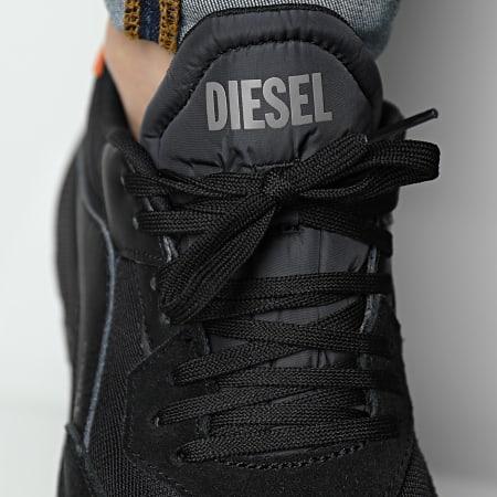 Diesel - Baskets S-Tyche Low Cut Y02635-P4198 Black Apricot Orange