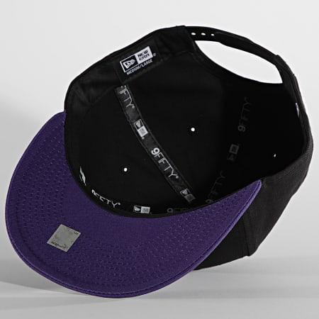 New Era - Casquette Snapback 9Fifty 12122724 Los Angeles Lakers Noir Violet