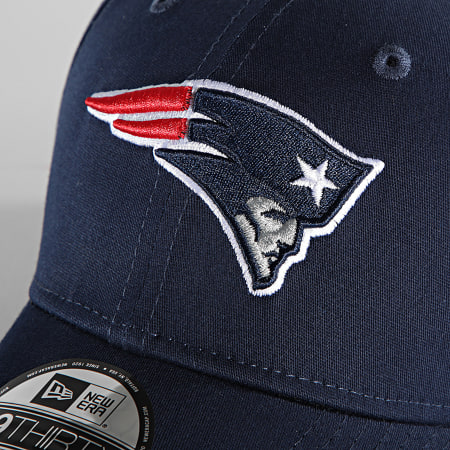 New Era - Casquette Fitted 39Thirty League Essential 12523892 Washington Patriots Bleu Marine