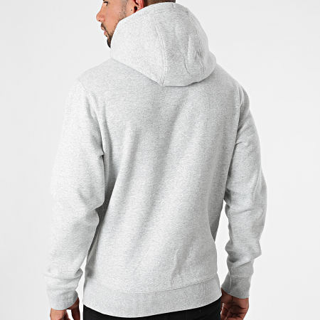 Tommy Jeans - Sweat Capuche Timeless 0909 Gris Chiné