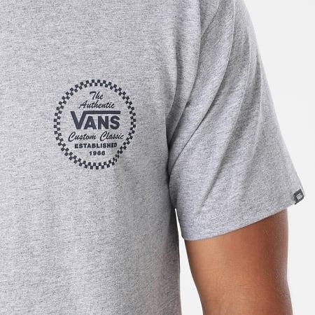 Vans - Tee Shirt Vans Custom Classic A5KCK Gris Chiné