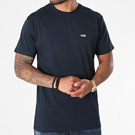 Vans - Tee Shirt Left Chest Logo A3CZE Bleu Marine