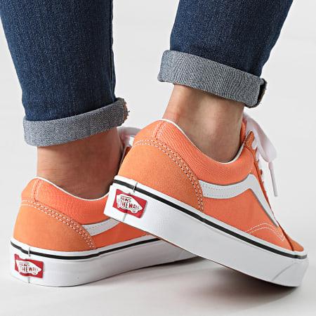 Vans - Baskets Femme Old Skool Cadmium 8G19GC Orange True White