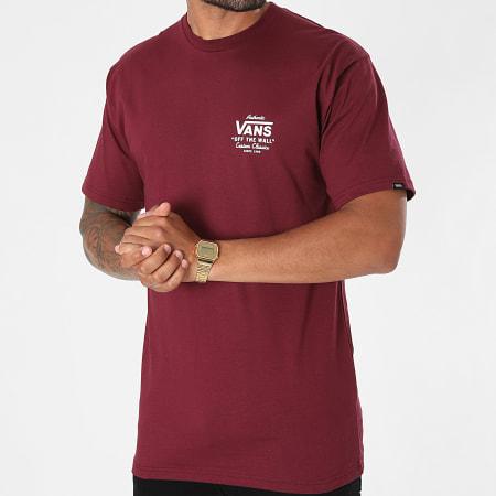 Vans - Tee Shirt Holder ST Classic A3HZF Bordeaux