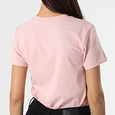 Vans - Tee Shirt Femme Flying V Rose