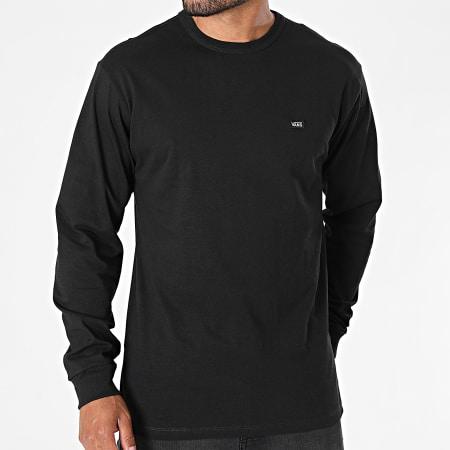 Vans - Tee Shirt Manches Longues Off The Wall A4TUR Noir