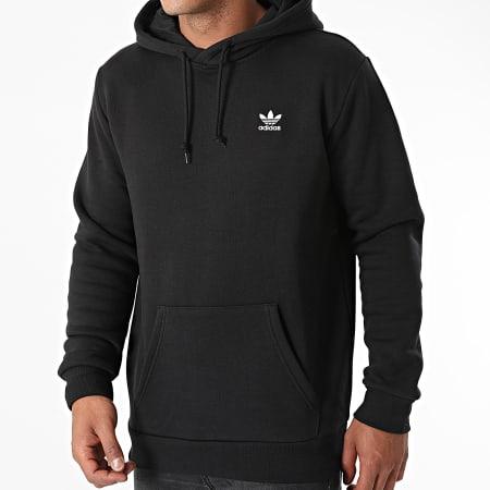 adidas - Sweat Capuche Essential H34652 Noir