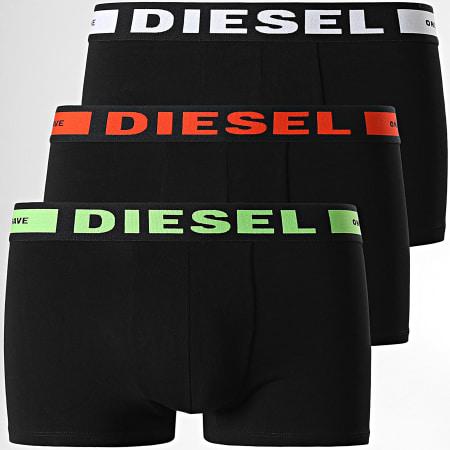 Diesel - Lot De 3 Boxers Kory 00CKY-0BAOF Noir