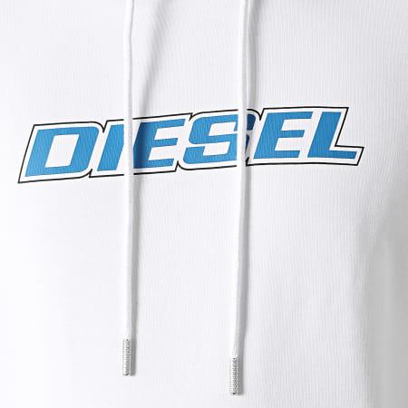 Diesel - Sweat Capuche Girk K10 A02967-0HAYT Blanc