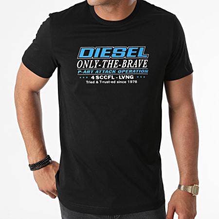 Diesel - Tee Shirt Diegos K20 A02970-0GRAI Noir