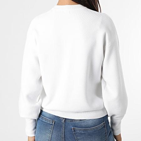 Guess - Pull Crop Femme W1YR0Q Blanc