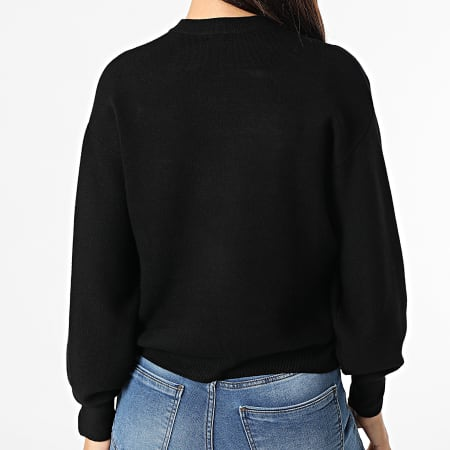 Guess - Pull Crop Femme W1YR0Q Noir