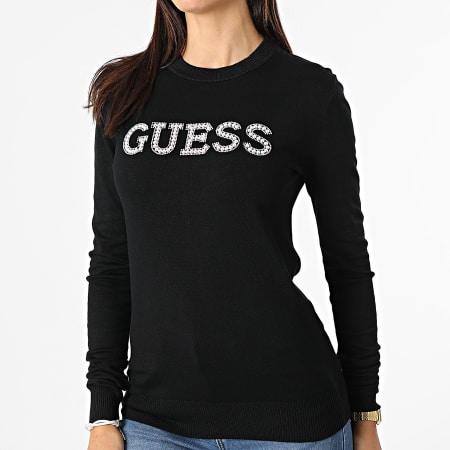 Guess - Pull Femme W1YR0K Noir