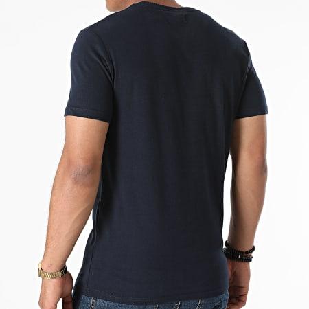 Superdry - Tee Shirt Classic Cali M1011007A Bleu Marine