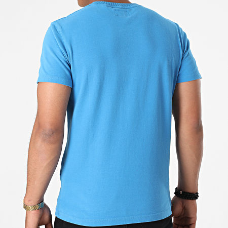 Superdry - Tee Shirt VL Cali Stripe M1011000A Bleu