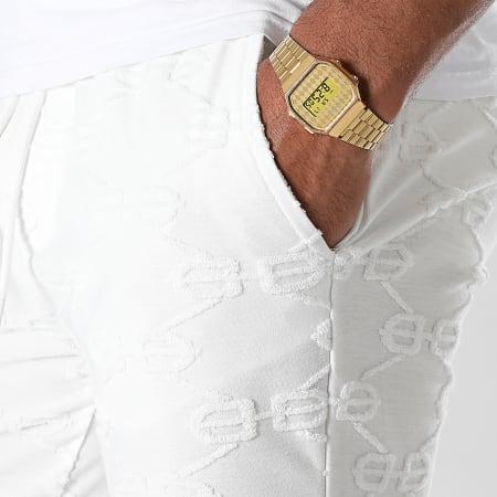 Uniplay - Short Jogging BJ-15 Blanc