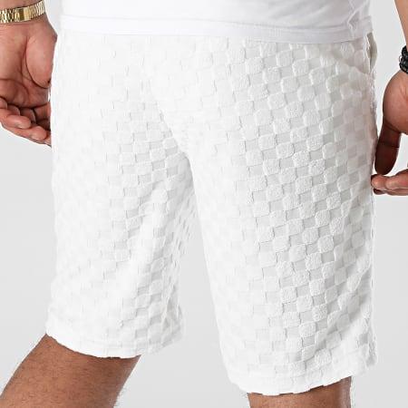 Uniplay - Short Jogging BJ-01 Blanc