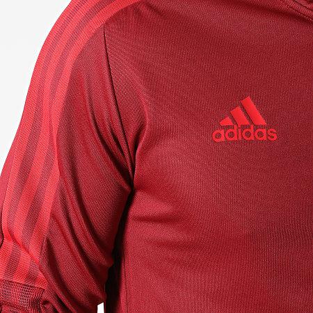 adidas - Veste Zippée A Bandes FC Bayern GR0634 Bordeaux