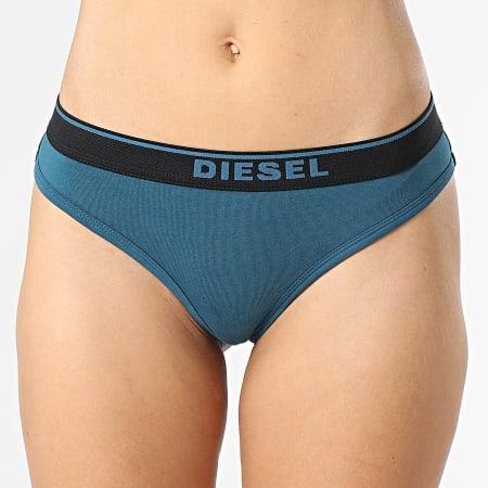 Diesel - Lot De 3 Strings Femme 00SE0K-0EAUF Noir Rose Bleu