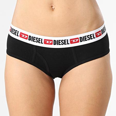 Diesel - Lot De 3 Culottes Femme 00SQZS-0EAXL Noir Rose