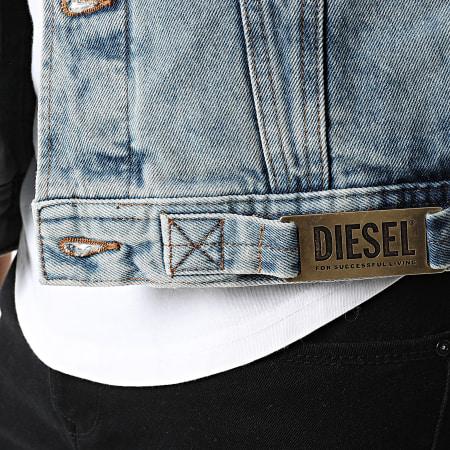 Diesel - Veste Jean Nhill A02126-0ABBJ Bleu Denim