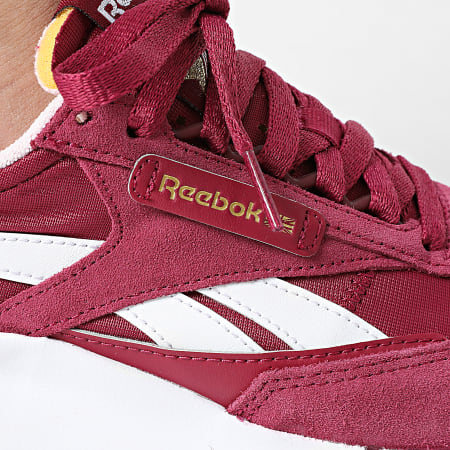 Reebok - Baskets Femme Classic Leather Legacy GZ7397 Purple Berry Cloud White Frost
