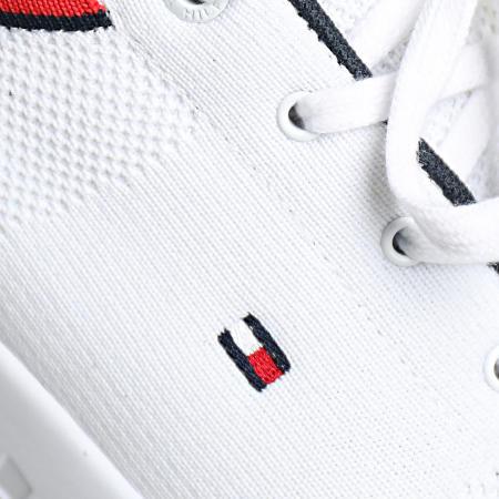 Tommy Hilfiger - Baskets Lightweight Knit Runner 3614 White