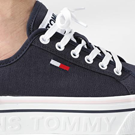 Tommy Jeans - Baskets Femme Platform Vulcanized 1423 Twilight Navy