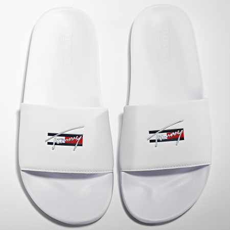 Tommy Jeans - Claquettes Femme Essential 1431 White