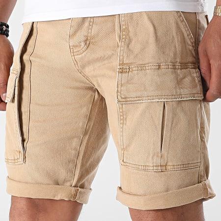 Uniplay - Short Jogg Jean 552 Camel Clair