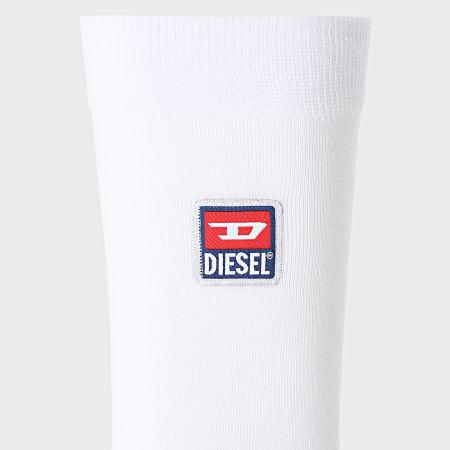 Diesel - Lot De 3 Paires De Chaussettes 00SAYJ-0DAYB Blanc