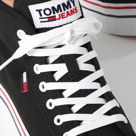 Tommy Jeans - Baskets Femme Mid Platform Vulcanized 1414 Black