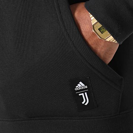 adidas - Sweat Capuche Juventus GR2919 Noir
