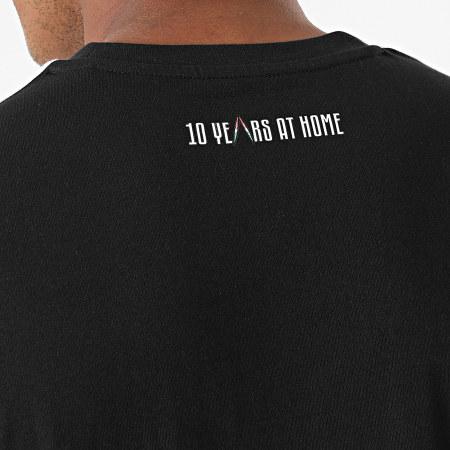 adidas - Tee Shirt A Bandes Juventus 3 Stripes GR2933 Noir